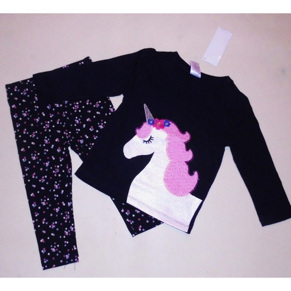 Gymboree Long Sleeve Top /& Legging Set Outfit Girls Size 6 12 18 24 3t